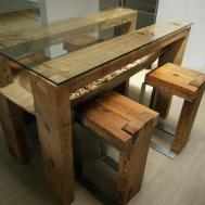 Farmhouse Kitchen Tables Reclaimed Wood Smith Design