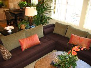 Fascinating Feng Shui Living Room Shape Purple