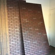 Faux Brick Panels Charming Wall False