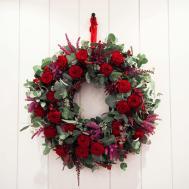 Festive Wreath Making Workshops Lorraine Wood Flowers