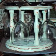 Finding Secret Treasure Diy Chalkborad Wine Glasses