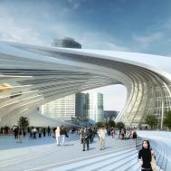 Flinders Street Station Shortlisted Proposal Zaha