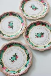 Floral Tea Party Paper Plates Parisian Thefulfilledshop