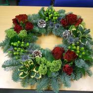 Flower Arranging Christmas Project Sutton