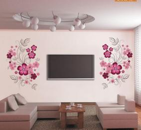 Flower Diy Art Wall Decal Decor Room Stickers Vinyl