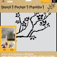 Folkart Stencil1 Laser Stencils Cherry Branch