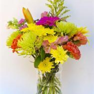 Fourth July Craft Mason Jar Vase Make Life Lovely
