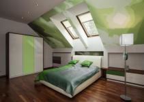 Frame Bedroom Ideas Slanted Ceiling