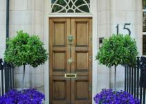 Front Door Flower Pots Good First Impression