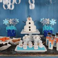 Frozen Inspired Snowman Birthday Party Ideas Popsugar