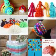 Fun Fantastic Yarn Crafts Pinterested Parent