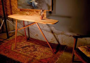 Funkenwerk Repurposed Industrial Furniture Iron Board Table