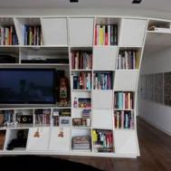 Furniture Cool Bookshelves Ideas Shelving
