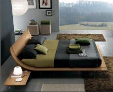 Furniture Nice Unique Floating Bed Designs Modern