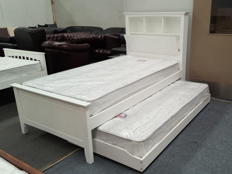 Furniture Place Kaylee King Single Bed Box Headboard