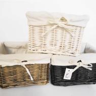 Furniture Wicker Storage Basket Ideas Make Your Room