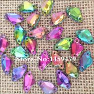 Galactic Flat Back Acryl Colorful Crystal Rhinestones