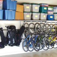 Garage Storage Keep Kids Stuff Check Home