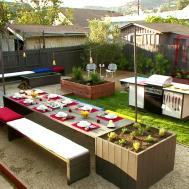 Garden Design Modern Style Patio