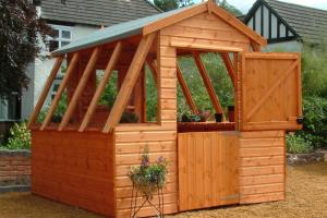 Garden Potting Sheds Dream Every Gardener Have