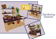 Gardener Potting Station Kat Kreations