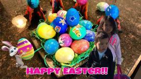 Giant Egg Hunt Diy Painting Easter Eggs Crafts