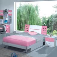 Girls Bedroom Classy Light Pink Girl