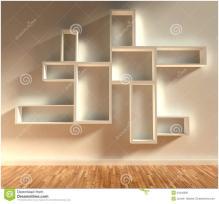Give Your Home Modern Shelf Ideas