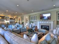 Glamorous Open Concept Living Room Designs Combine