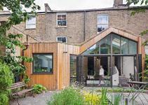 Glazed Timber Extension Rejuvenates Dreary London Home