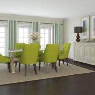 Glorious Green Dining Room Ideas Modern
