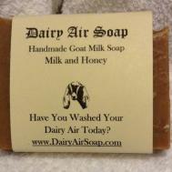 Goat Milk Soap Homemade Honey Lot Two