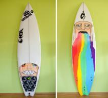 Good Bad Ugly Surfboard Graphics Mpora