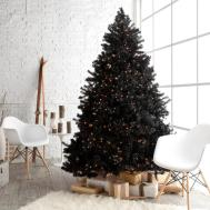Gorgeous Black Christmas Tree Decoration Ideas