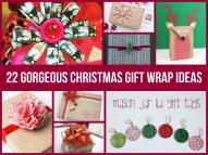Gorgeous Christmas Gift Wrap Ideas