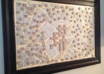 Gracie Blue Wall Art Kitchen Scrabble Board Diy
