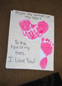 Grandparents Day Card Valentines Hey