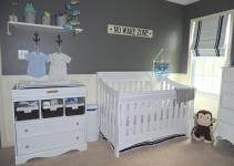 Gray Navy Nautical Nursery Project