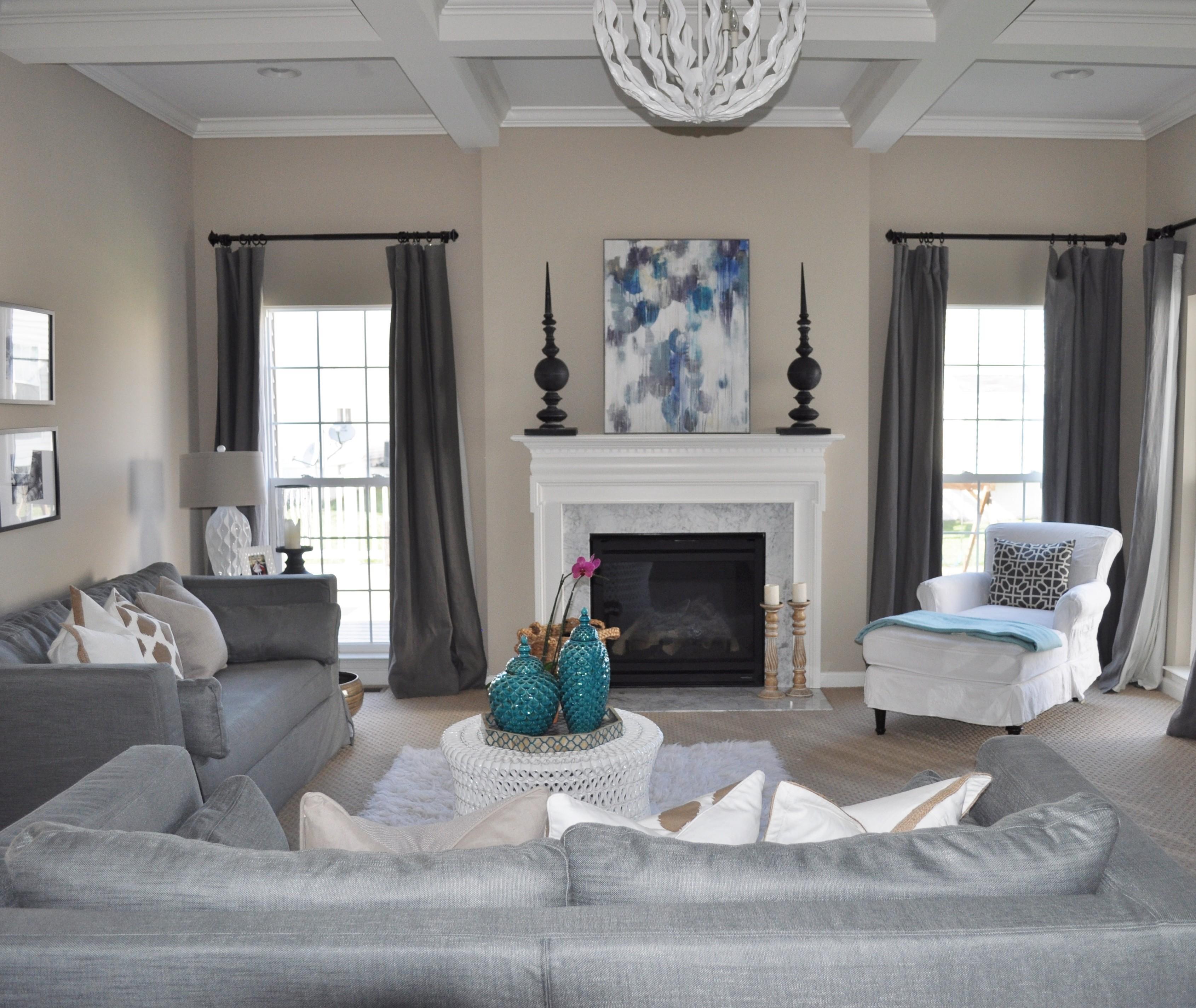 Gray Turquoise Living Room Decorating Ideas Decoratorist 13210