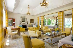 Grey Yellow Living Room Accessories