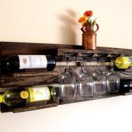 Groovy Jumbo Bin Grid Bottle Wine Diy Rack