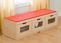 Guidecraft Easy Storage Bench Toy Hayneedle