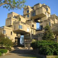 Habitat Moshe Safdie Cube Modern Architecture
