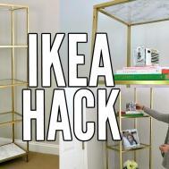 Hack Gold White Marble Diy Vittsjo