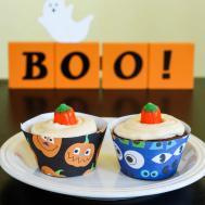 Halloween Cupcake Wrappers Kitchen Adventures