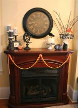 Halloween Mantel Linky Party Home Stories