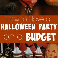 Halloween Party Budget
