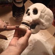 Halloween Skull Decoration Diy Tutorial