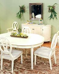 Handmade Dining Chair Holiday Room Decor Cross Back Astat