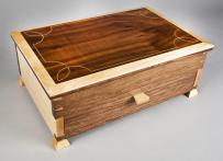 Handmade Elegant Jewelry Box Curtis Woodworks